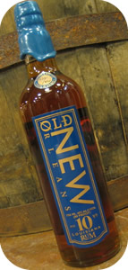 Thumbnail image for Old New Orleans 10 Year Old Rum