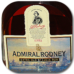 Post image for Admiral Rodney Extra Old St. Lucia Rum